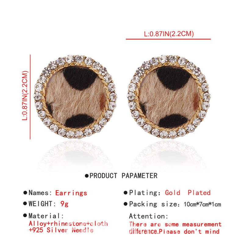 Ericdress Alloy Leopard Anniversary Earrings