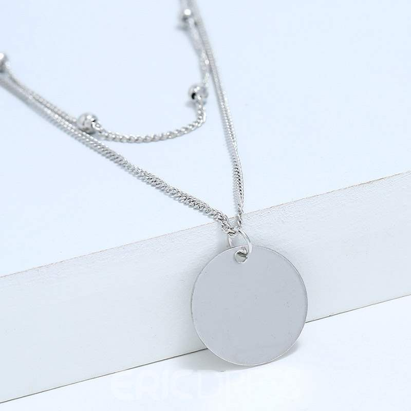 Ericdress E-Plating Disc Female Necklaces