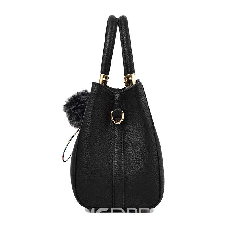 Ericdress Plain PU Thread Hobos Tote Bags