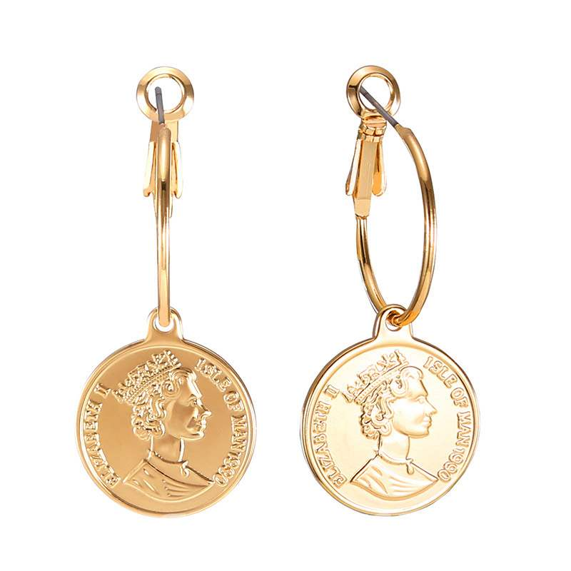 Ericdress Coin Alloy Fashion Earrings