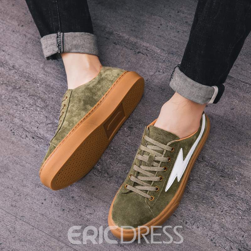 Ericdress Round Toe Low-Cut Upper Men's Skate Shoes