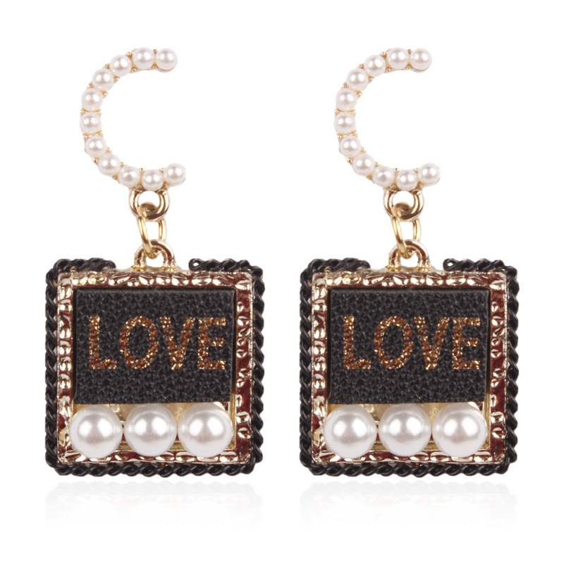 Ericdress Pearl Retro E-Plating Party Earrings