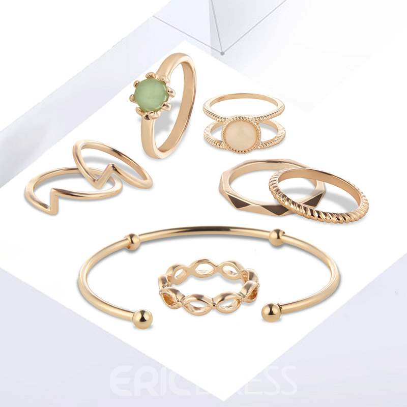 Ericdress Luxury Bangle Engagement Jewelry Sets