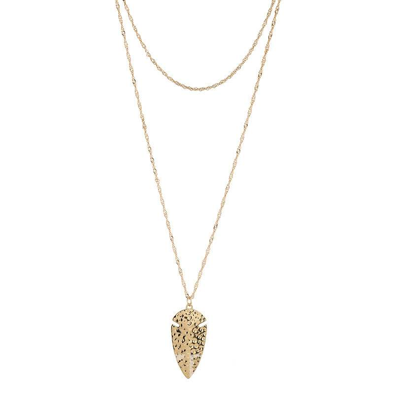 Ericdress Pendant Leaf E-Plating Female Necklaces