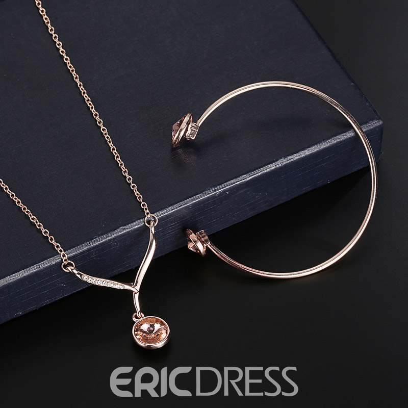 Ericdress Zircon European Jewelry Sets
