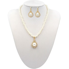 Ericdress Pearl Diamante Jewelry Sets