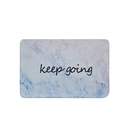 Ericdress Cartoon Letter Non Slip Bath Mat For Bathroom Carpet Rugs