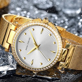Ericdress Water Resistant Fashion Round Watches
