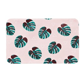Ericdress Cartoon Botany Non Slip Bath Mat For Bathroom Carpet Rugs