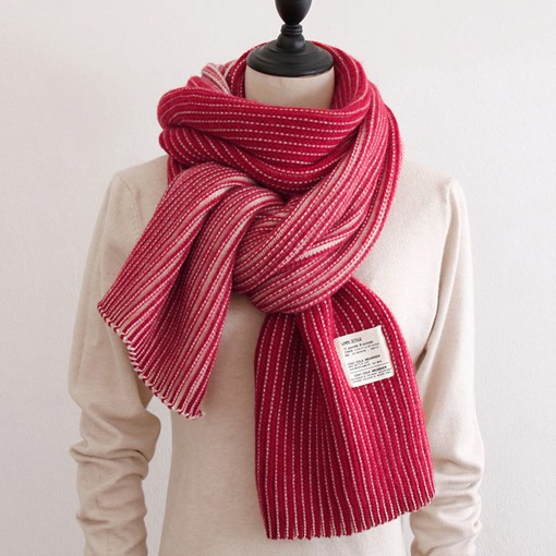 Ericdress Stripe Pure Colour Scarf