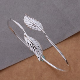 Ericdress Silver Leaf Fashion Bracelets