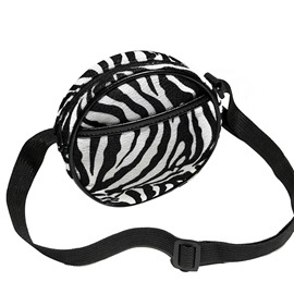 Ericdress Thread Zebra Stripe Circular Crossbody Bags