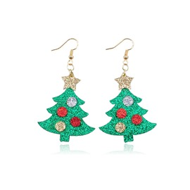 Ericdress Christmas Trees Earrings