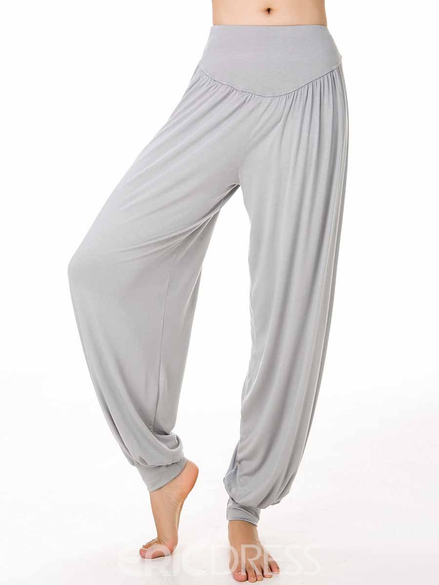 Ericdress Women Modal Solid Breathable Yoga Harem Pants