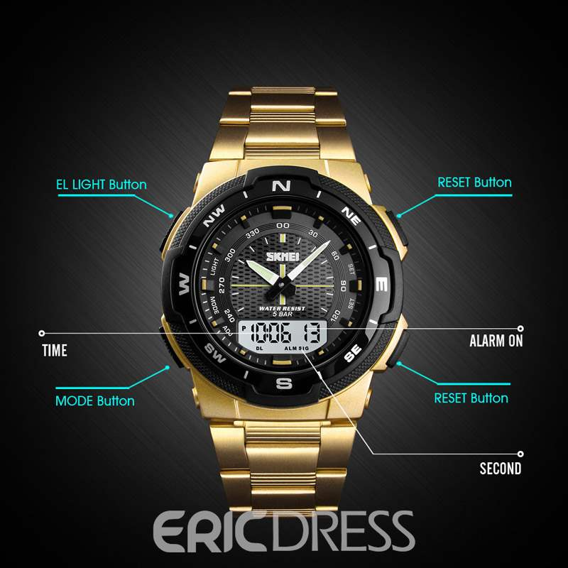 Ericdress Glass Men Watches