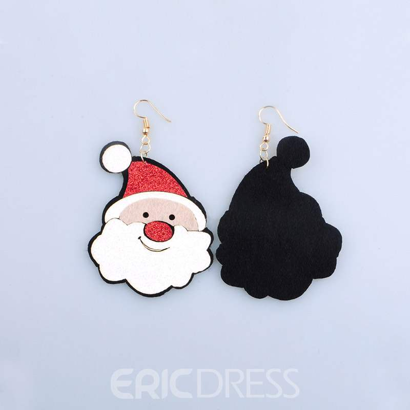 Ericdress Christmas Santa Hat Earrings