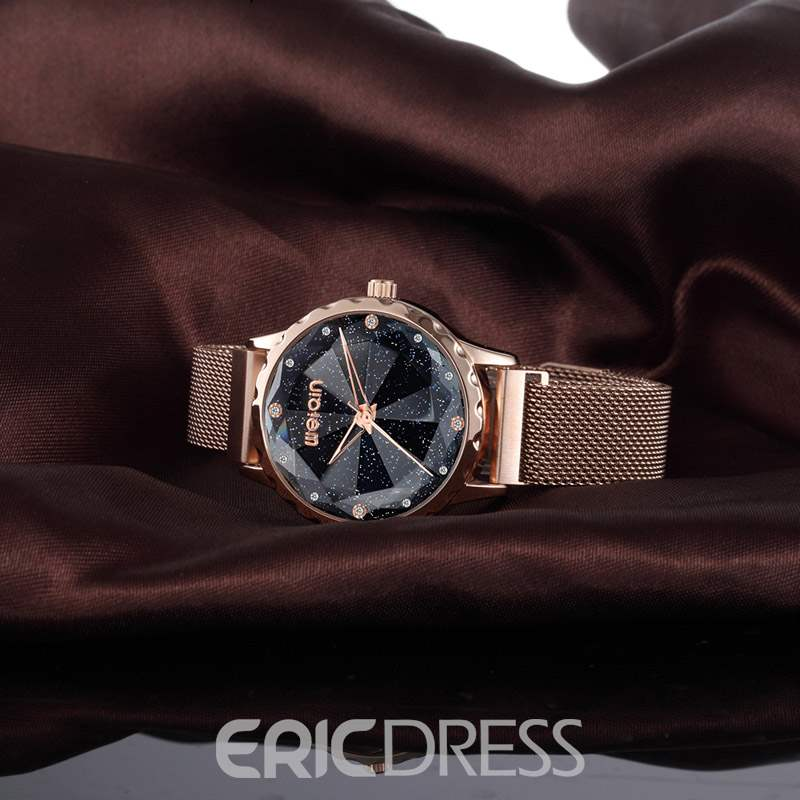 Ericdress Water Resistant Quartz Steel Belt Watch