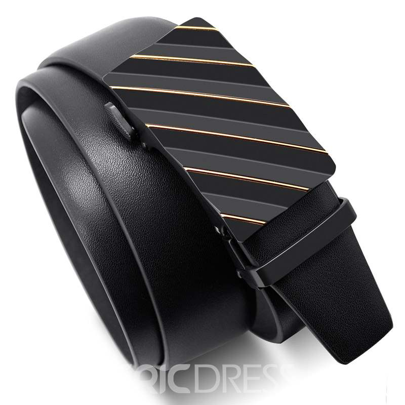 Ericdress Grain Edge Leather Belt