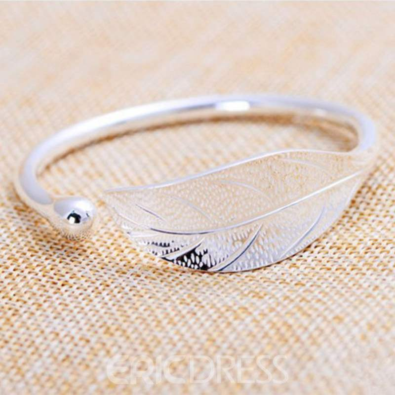 Ericdress Hollow Out Leaf Fashion Bracelets