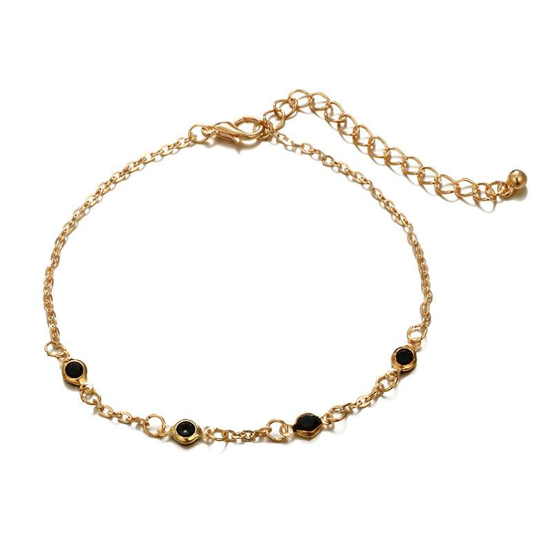 Ericdress Heart Beads Anklets