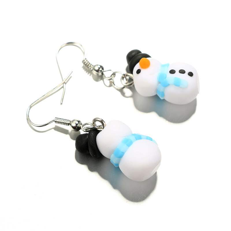 Ericdress Christmas Snowman Cutie Earrings