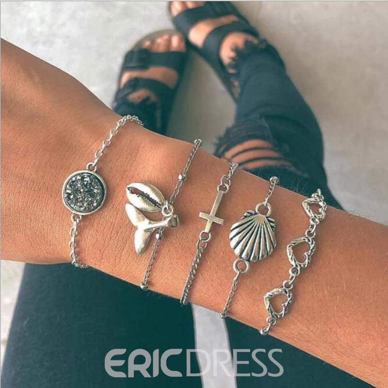 Ericdress Shell Alloy Bracelet