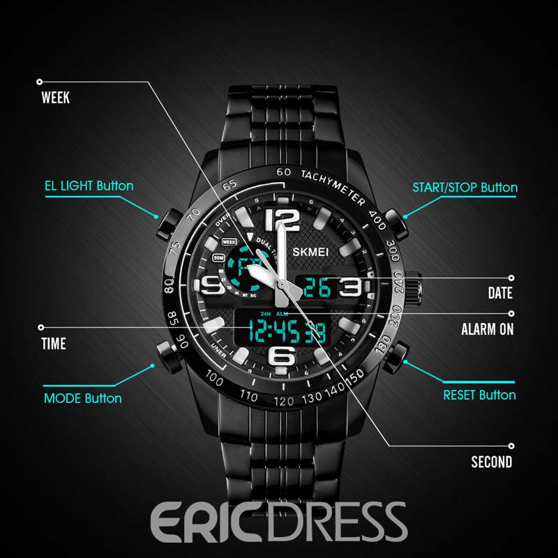 Ericdress Alarm Black Watch