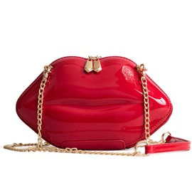 Ericdress PU Plain Chain Crossbody Bags