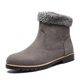 Ericdress Round Toe Men's Winter Boots