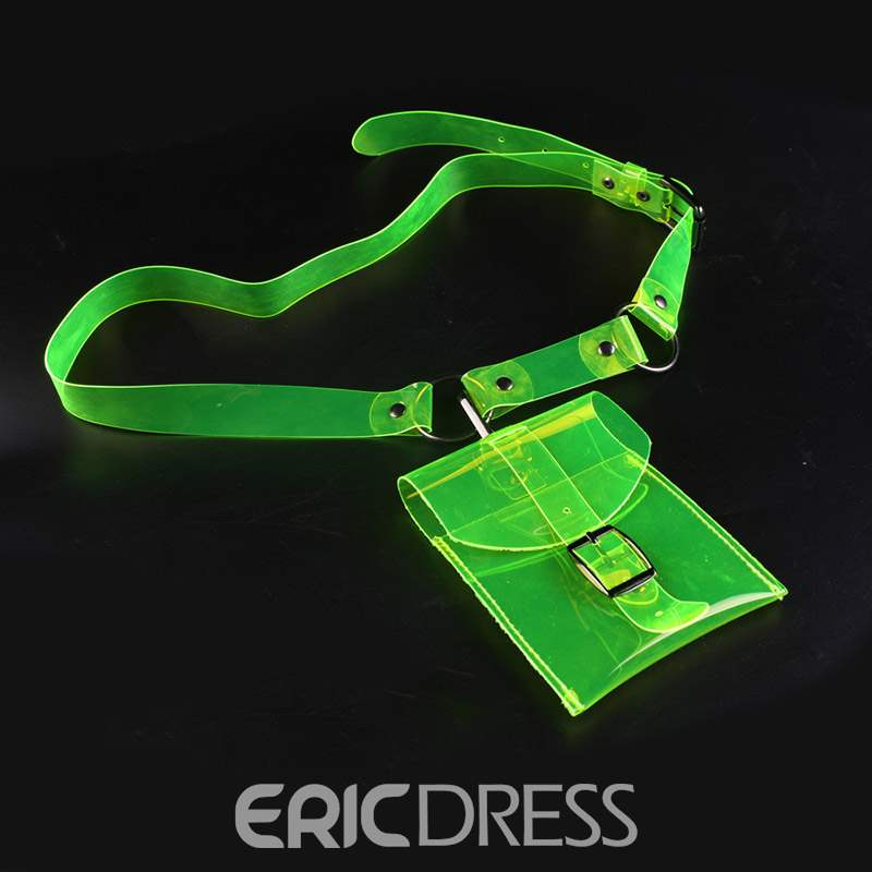 Ericdress Women ABS Plastic Belt-Decorated Waist Bags
