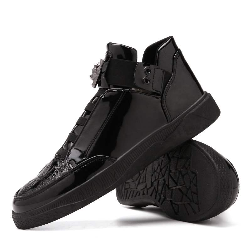 Ericdress Mid-Cut Upper Elastic Band Men's Skate Shoes