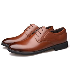 Ericdress Low-Cut Upper Round Toe Men's Dress Shoes