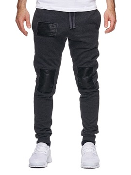 Ericdress Color Block Patchwork Loose Mens Casual Pants
