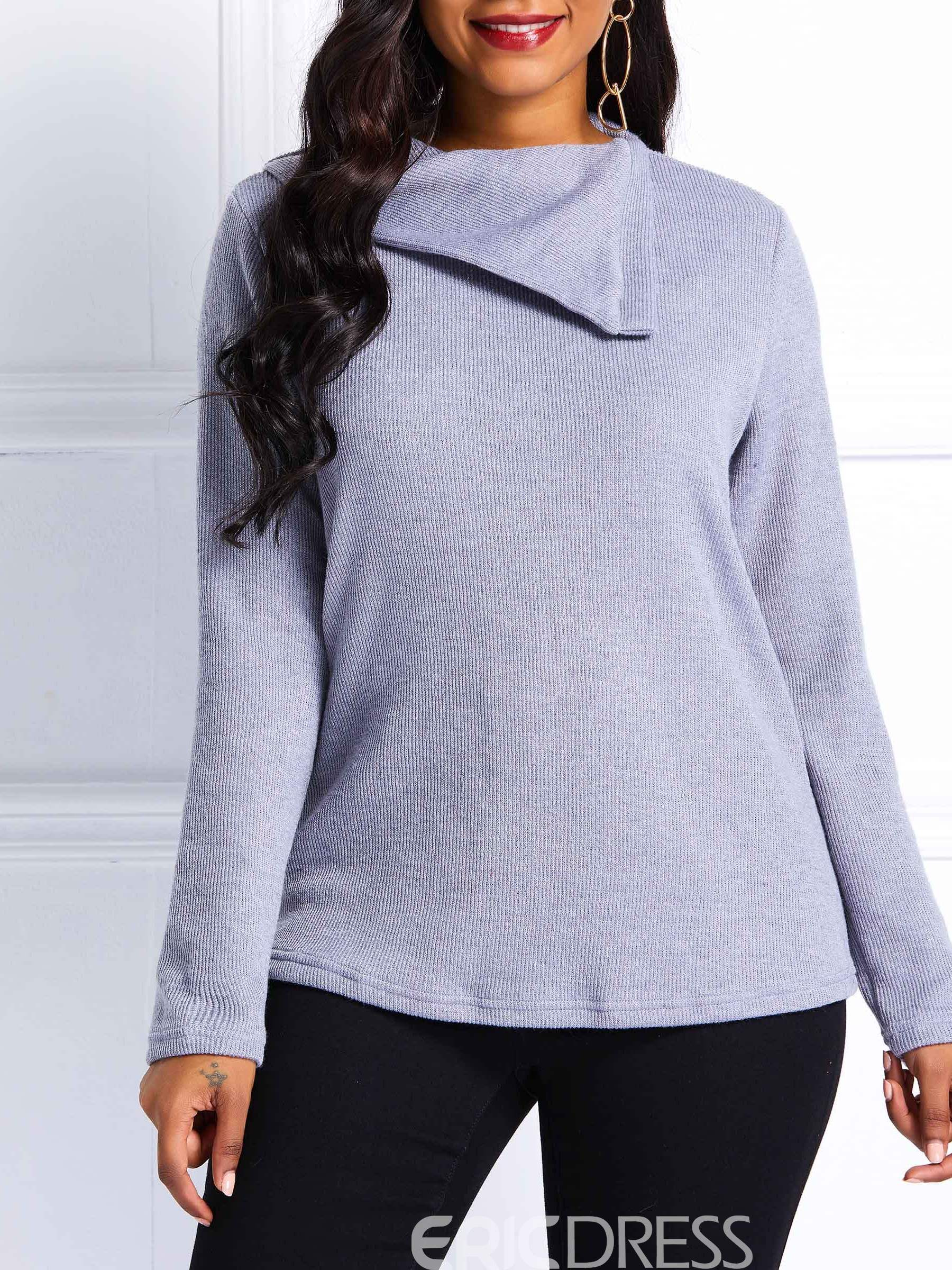 Ericdress Regular Fall Loose Pullover Sweater