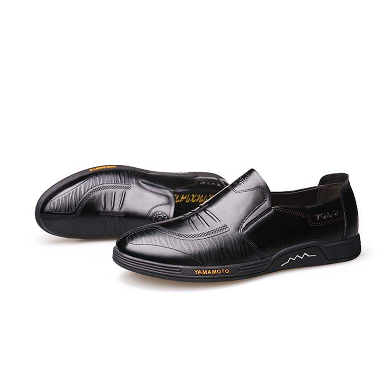 Ericdress PU Low-Cut Upper Slip-On Men's Casual Shoes