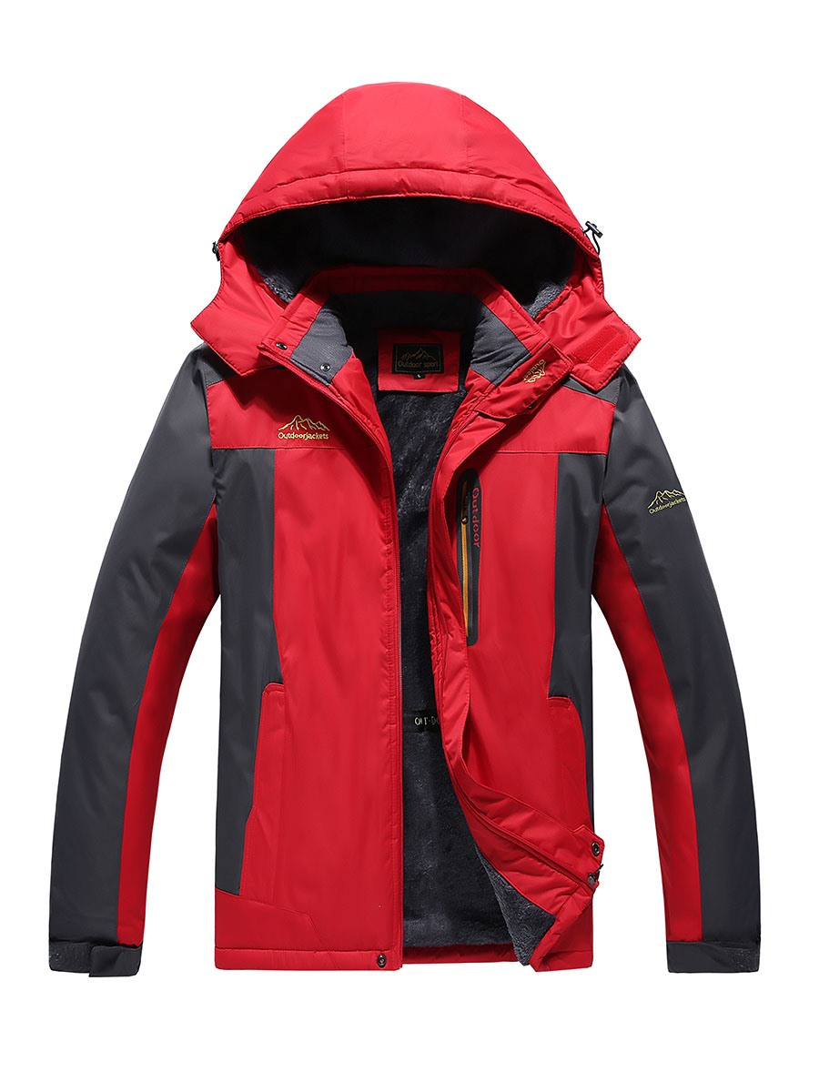 Ericdress Climbing Windproof Waterproof Men's Outdoor Jacket
