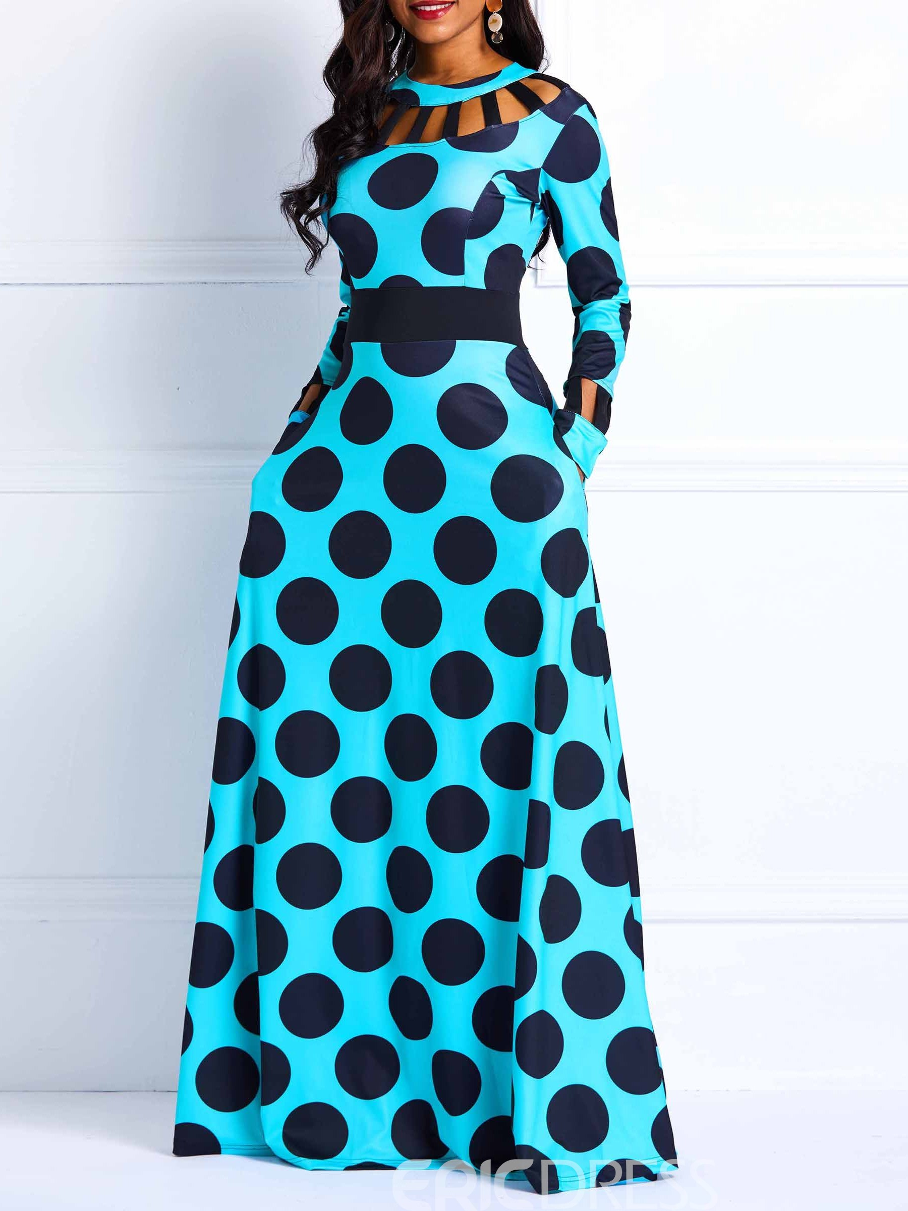Ericdress Long Sleeves Vintage Expansion Women's Dress