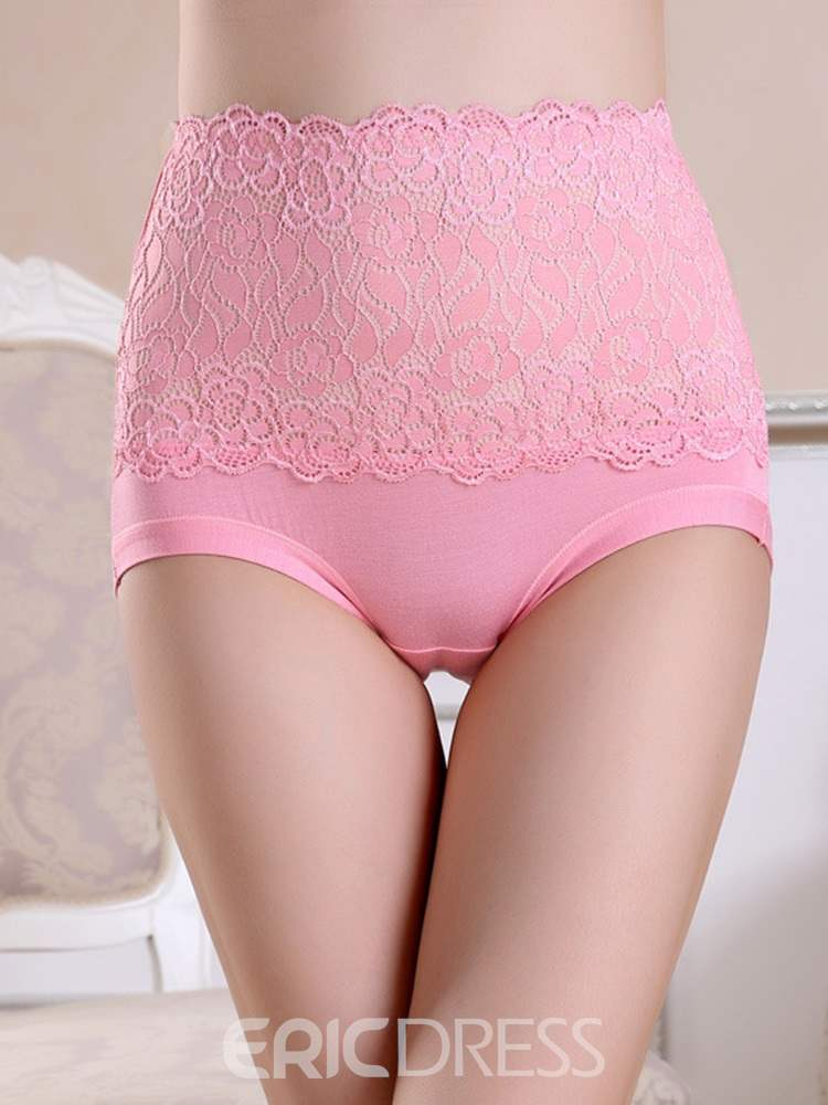 Ericdress High Waist Body Shaping Lace Panty for Women