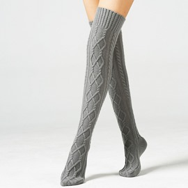 Ericdress Over Knees Warm Boots Socks
