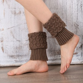 Ericdress Knit Boots Cuffs Socks For Women