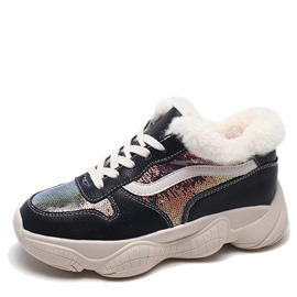 Ericdress Low-Cut Upper Platform Women's Winter Sneakers
