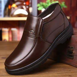 Ericdress Plain Mid-Cut Upper Men's Winter Boots