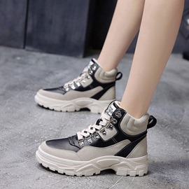 Ericdress Platform Round Toe High-Cut Upper Women's Sneakers
