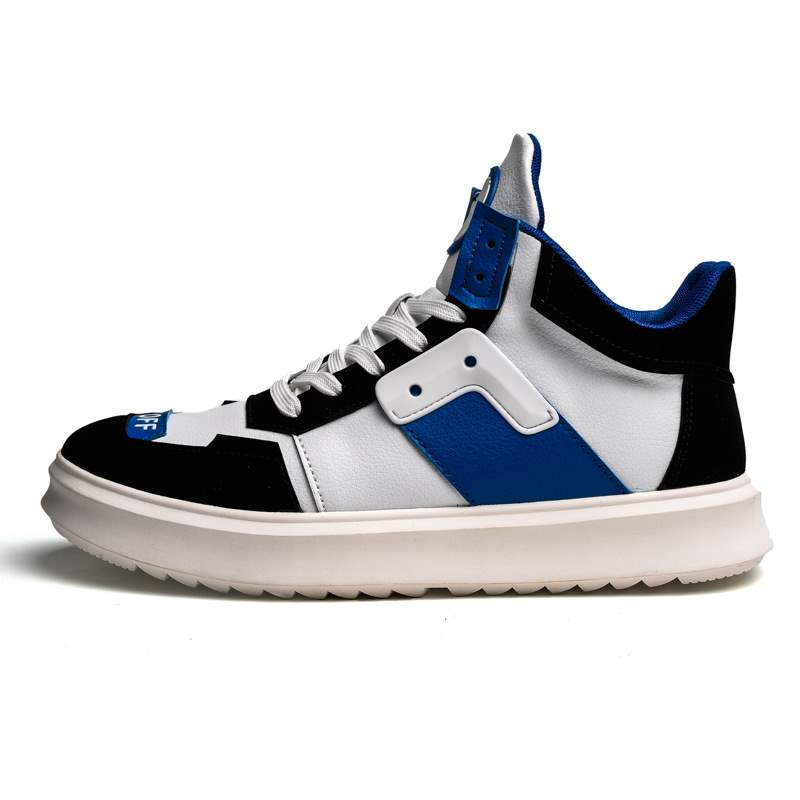 Ericdress High-Cut Upper Color Block Men's Skate Shoes