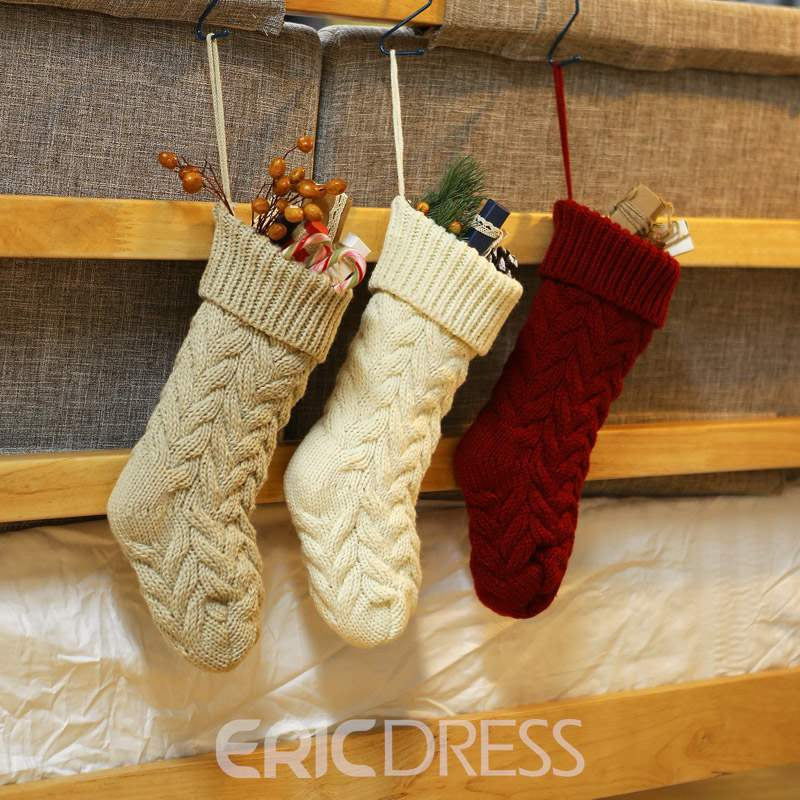 Ericdress Christmas Ornament Socks