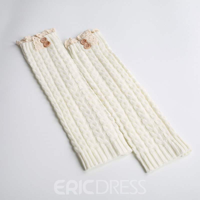 Ericdress Knit Leg Warmers Boots Socks For Women