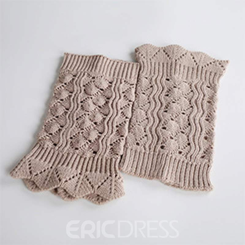 Ericdress Knit Boots Cuffs Socks