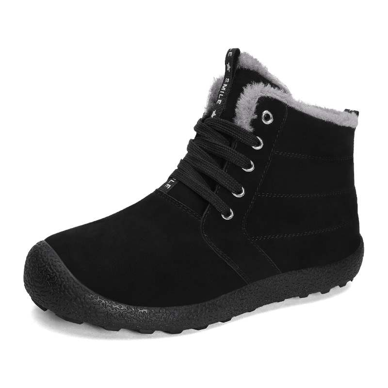 Ericdress Round Toe Plain Men's Winter Boots
