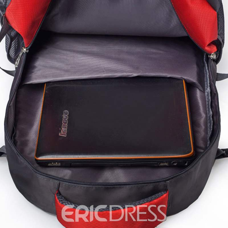 Ericdress Nylon Thread Travelling Outdoor Backpack