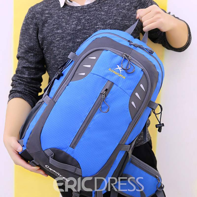 Ericdress Letter Nylon Patchwork Travelling Bags